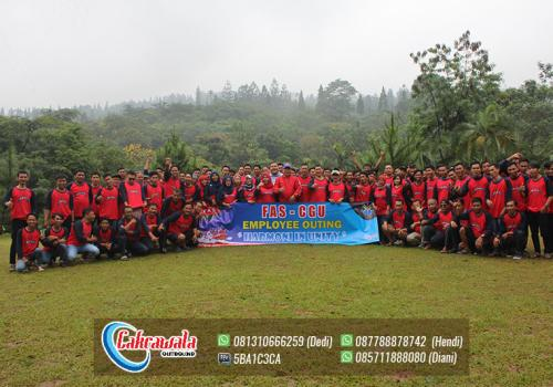 Outbound Team Building Perusahaan PT FAS CGU