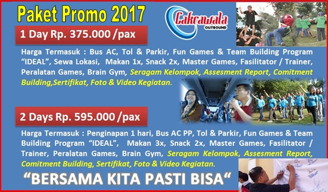Promo Paket Outbound