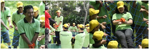Team Cakrawala  Outbound Training Outing Gathering Paintball Arung Jeram Rafting Paket Outbound Outbound Provider Outbound Jakarta Outbound Sukabumirafting Citarik